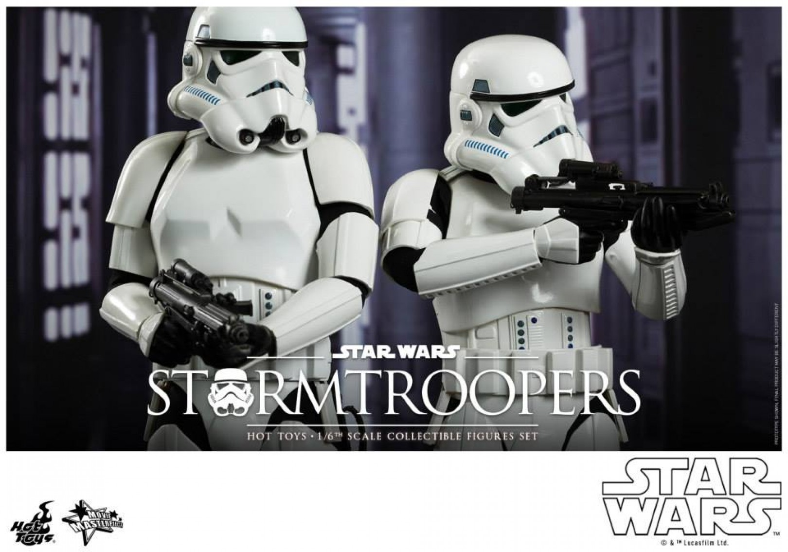 Star Wars Episode Iv 1 6th Scale Stormtroopers Collectible Set Collectimag