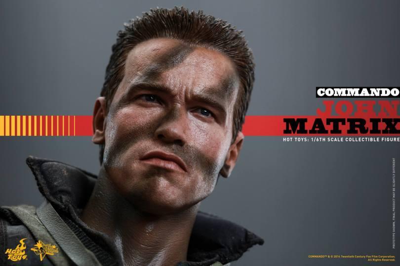 Commando: 1/6th scale John Matrix Collectible Figure