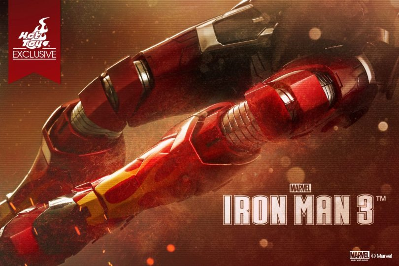 """Hot Toys: Iron Man 3 Teaser – The """"suit is on fire""""!"""