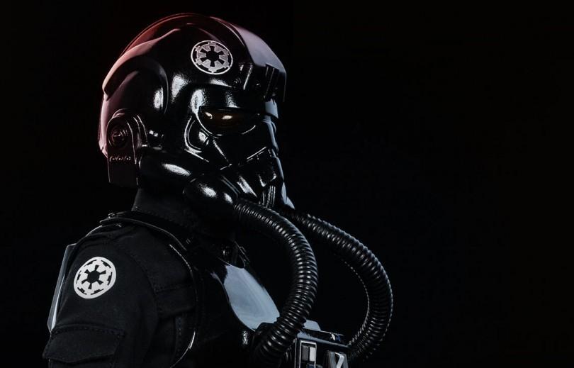 Star Wars Imperial TIE Fighter Pilot von Sideshow angekündigt
